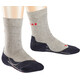 Falke RU4 Running Socks Children grey/black